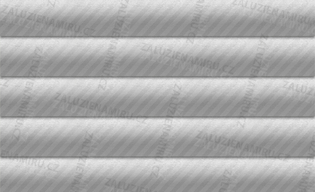 Stříbrná - broušený kov, pololesk, proužek (780/18)