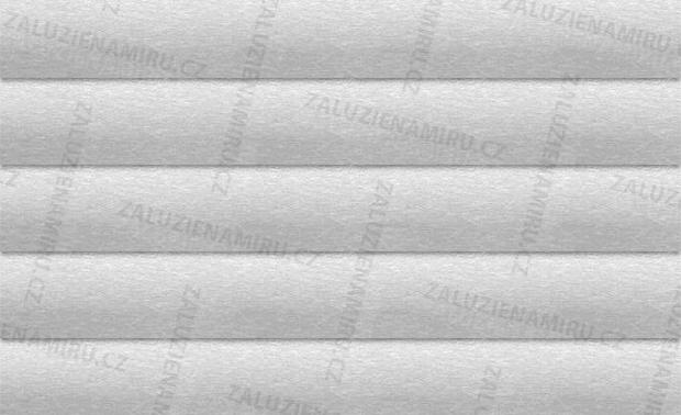 Stříbrná - broušený kov, lesk (17/18)